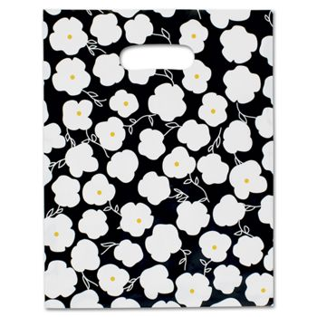 Martine Frosted Merchandise Bags, 9 x 12""