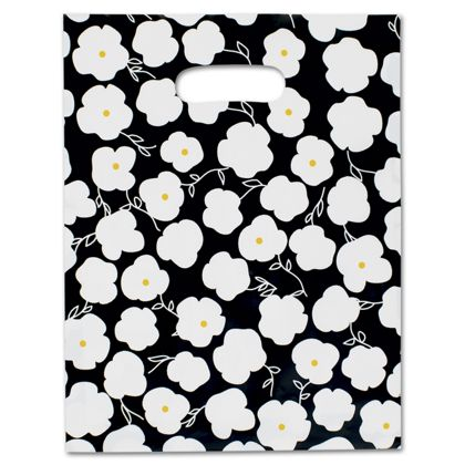 Martine Frosted Merchandise Bags, 9 x 12
