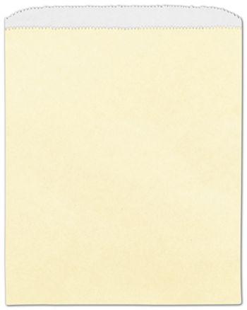 Cream Paper Merchandise Bags, 8 1/2 x 11