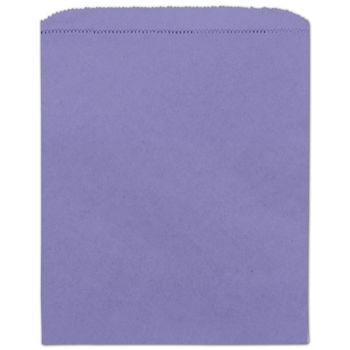 Purple Paper Merchandise Bags, 8 1/2 x 11