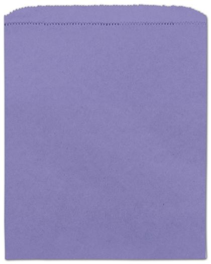 "Purple Paper Merchandise Bags, 8 1/2 x 11"""