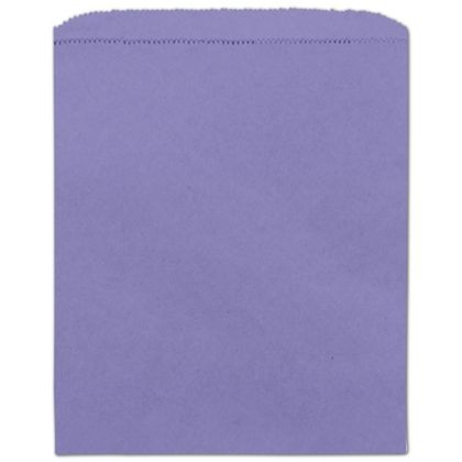 Purple Paper Merchandise Bags, 8 1/2 x 11""