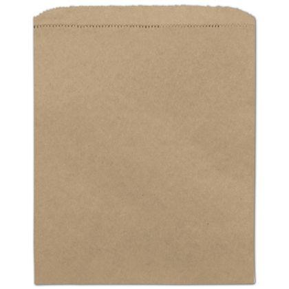 Kraft Paper Merchandise Bags, 8 1/2 x 11