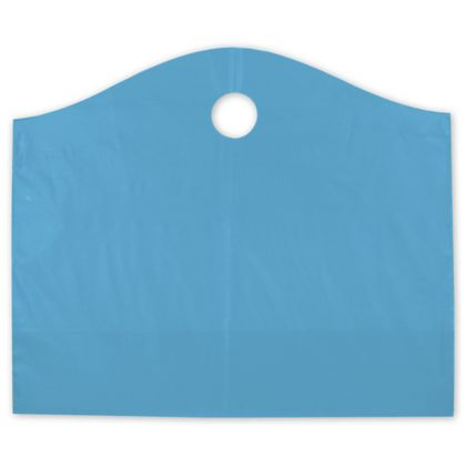 Lagoon Blue Frosted Wave Merchandise Bags, 22 x 8 x 18""