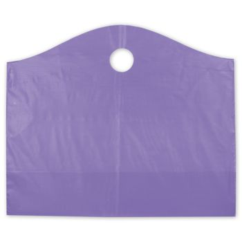 Grape Frosted Wave Merchandise Bags, 22 x 8 x 18
