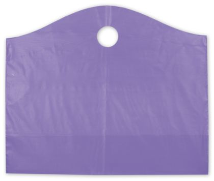 Grape Frosted Wave Merchandise Bags, 22 x 8 x 18""