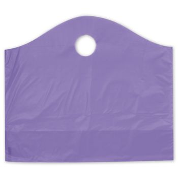 Grape Frosted Wave Merchandise Bags, 18 x 6 x 15