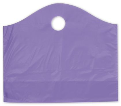 Grape Frosted Wave Merchandise Bags, 18 x 6 x 15""