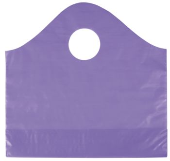 Grape Frosted Wave Merchandise Bags, 12 x 4 x 11