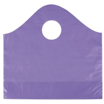 Grape Frosted Wave Merchandise Bags, 12 x 4 x 11""