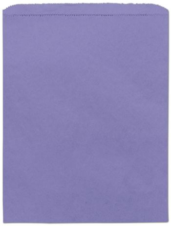 Purple Paper Merchandise Bags, 12 x 15