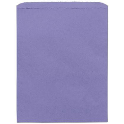 "Purple Paper Merchandise Bags, 12 x 15"""