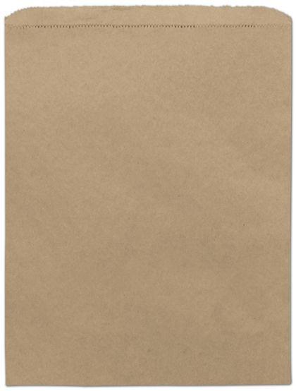 "Kraft Paper Merchandise Bags, 12 x 15"""