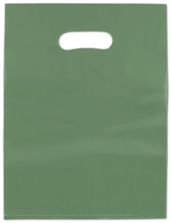 Hunter Frosted High Density Merchandise Bags, 12 x 15