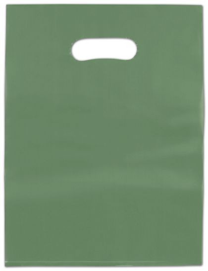 """Hunter Frosted High Density Merchandise Bags, 12 x 15"""""""