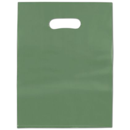 Hunter Frosted High Density Merchandise Bags, 12 x 15""