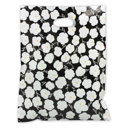 Martine Frosted Merchandise Bags, 12 x 15
