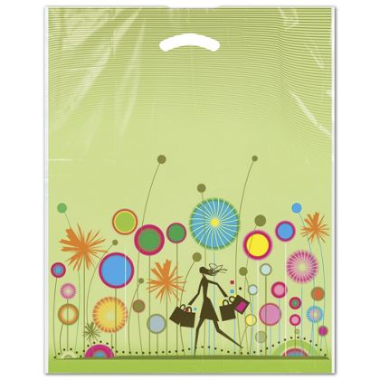 "Celebration Merchandise Bags, 12 x 16"" + 3"" Bottom Gusset"