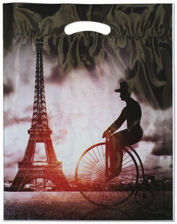 Eiffel Merchandise Bags, 12 x 16