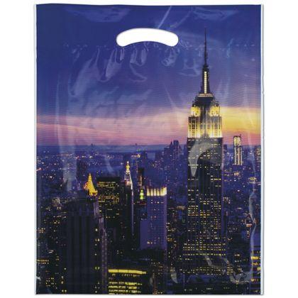 """Empire Merchandise Bags, 12 x 16"""" + 3"""" Bottom Gusset"""