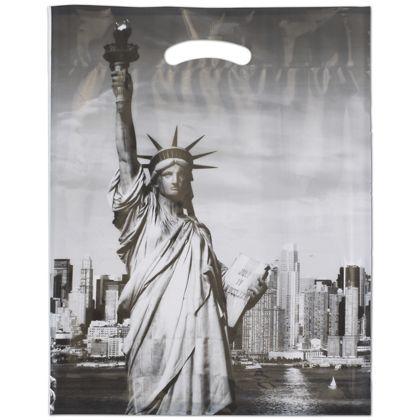 "Liberty Merchandise Bags, 12 x 16"" + 3"" Bottom Gusset"