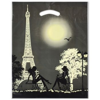 "Paris Merchandise Bags, 12 x 16"" + 3"" Bottom Gusset"