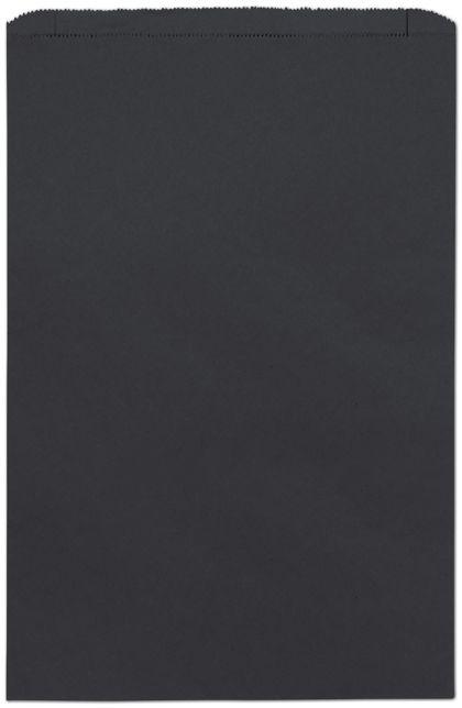 "Black Paper Merchandise Bags, 14 x 3 x 21"""