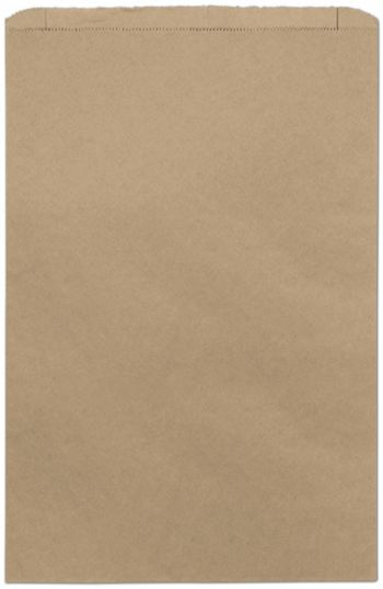 Kraft Paper Merchandise Bags, 14 x 3 x 21