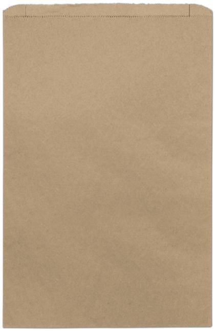 "Kraft Paper Merchandise Bags, 14 x 3 x 21"""