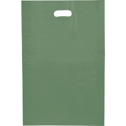 Hunter Frosted High Density Merchandise Bags, 14 x 3 x 21""