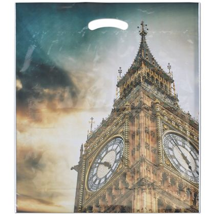"Big Ben Merchandise Bags, 16 x 18"" + 4"" Bottom Gusset"
