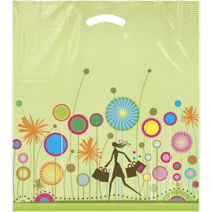"Celebration Merchandise Bags, 16 x 18"" + 4"" Bottom Gusset"