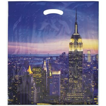 "Empire Merchandise Bags, 16 x 18"" + 4"" Bottom Gusset"