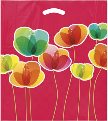 Flora Merchandise Bags, 16 x 18