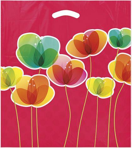 """Flora Merchandise Bags, 16 x 18"""" + 4"""" Bottom Gusset"""