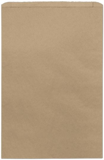 Kraft Paper Merchandise Bags, 16 x 3 3/4 x 24