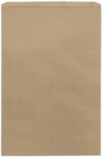 "Kraft Paper Merchandise Bags, 16 x 3 3/4 x 24"""