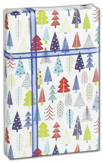 Tinsel Trees Gift Wrap, 30