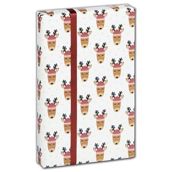 Decked Out Deer Gift Wrap, 30