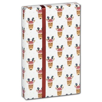 """Decked Out Deer Gift Wrap, 30"""" x 208'"""