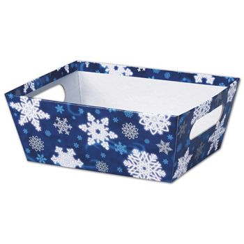 Winter Wonderland Market Trays, 9 x 7 x 3 1/2