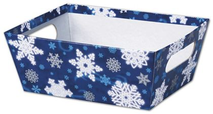Winter Wonderland Market Trays, 9 x 7 x 3 1/2""