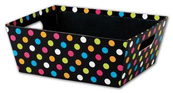 Dazzling Dots Market Trays, 12 x 9 1/2 x 4 1/2