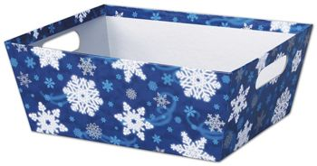 Winter Wonderland Market Trays, 12 x 9 1/2 x 4 1/2