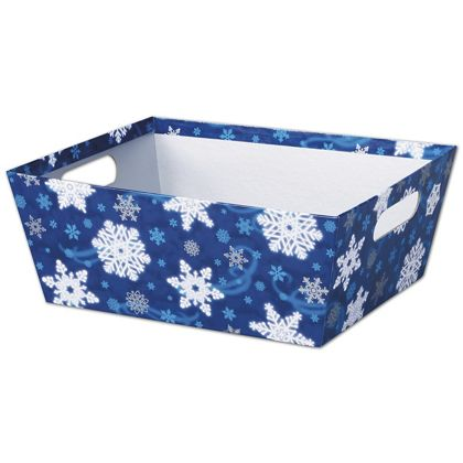 Winter Wonderland Market Trays, 12 x 9 1/2 x 4 1/2""