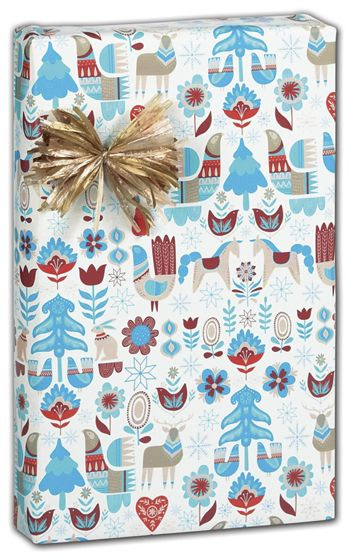 Nordic Holiday Gift Wrap, 30