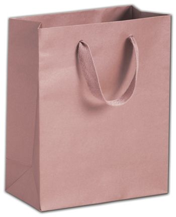 Roslyn Rose Gold Manhattan Eco Euro-Shoppers, 8 x 4 x 10
