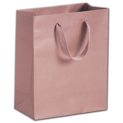Roslyn Rose Gold Manhattan Eco Euro-Shoppers, 8 x 4 x 10""
