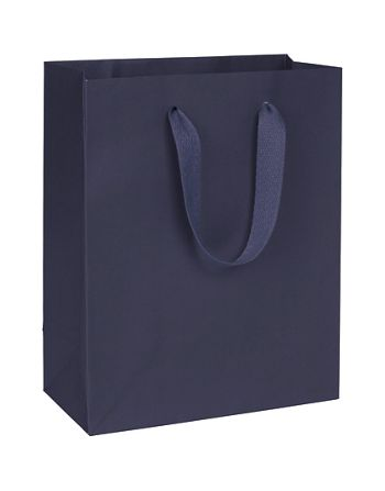 Nolita Navy Manhattan Eco Euro-Shoppers, 8 x 4 x 10