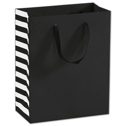 """Bleeker St. Black Manhattan Euro-Shoppers, 8 x 4 x 10"""""""